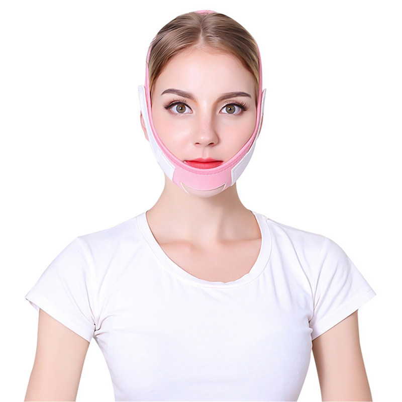 Face Slim V-Line Lift Up Mask Cheek Chin Neck Slimming Thin Belt Strap Beauty Delicate Facial Thin Face Mask Slimming Bandage 36 3