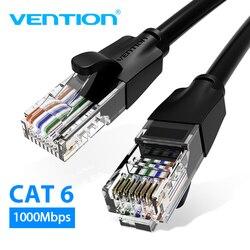 Vention Ethernet кабель Cat6 Lan кабель UTP RJ45 сетевой Соединительный кабель 10 м 15 м для PS PC компьютерный модем маршрутизатор Cat 6 кабель Ethernet