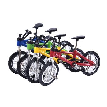1pc funkcjonalny palec rower górski dzieci dorośli BMX Fixie rowerowe zabawki dla chłopca kreatywna gra prezenty nowy tanie i dobre opinie GJCUTE Z tworzywa sztucznego CN (pochodzenie) Bicycle Toys Inedible Keep Away From Fire Do not eat Finger rowery 5-7 lat