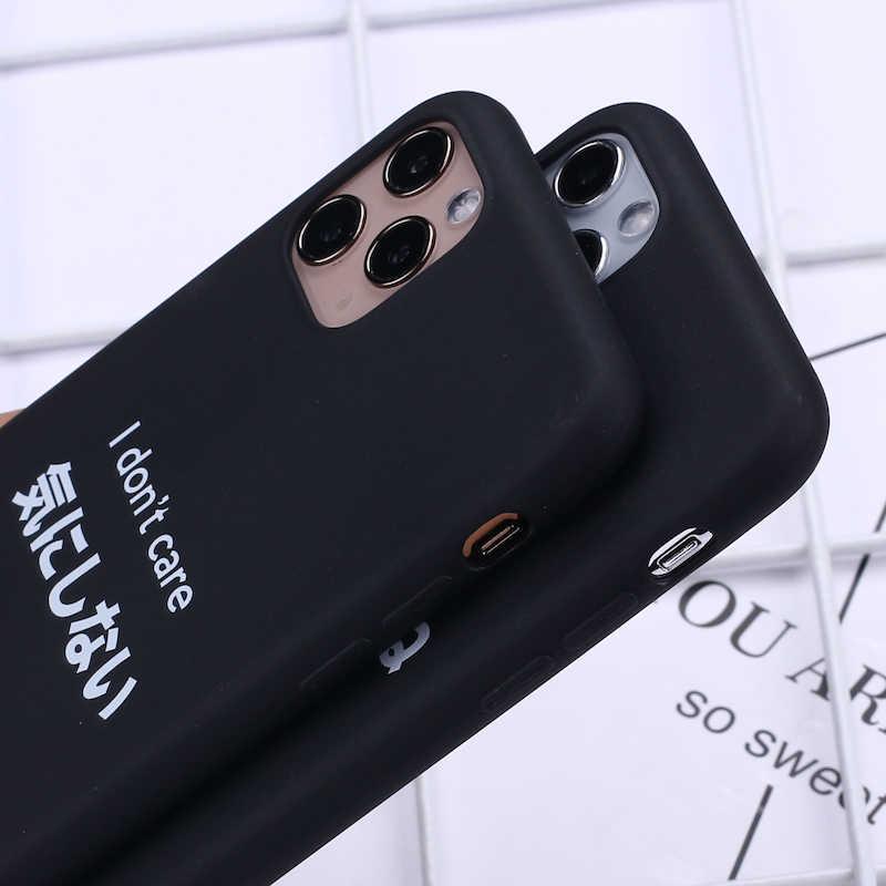 日本の原宿マンガコミック電話カバー iphone 11 プロ Max X XS XR 最大 7 8 7 プラス 8 プラス 6S 、 SE ソフトシリコンケース Fundas