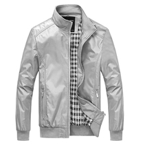 Mens Outerwear Hot Sales Smart Casual Jacket Spring Autumn Mandarin Collar Clothing Solid Fashion SizeM-5XL 6XL