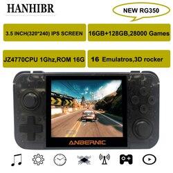 NUOVO ANBERNIC RG350 IPS Retro Games 350 Video games Aggiornamento console di gioco ps1 gioco 64bit opendingux da 3.5 pollici 28000 + giochi rg350