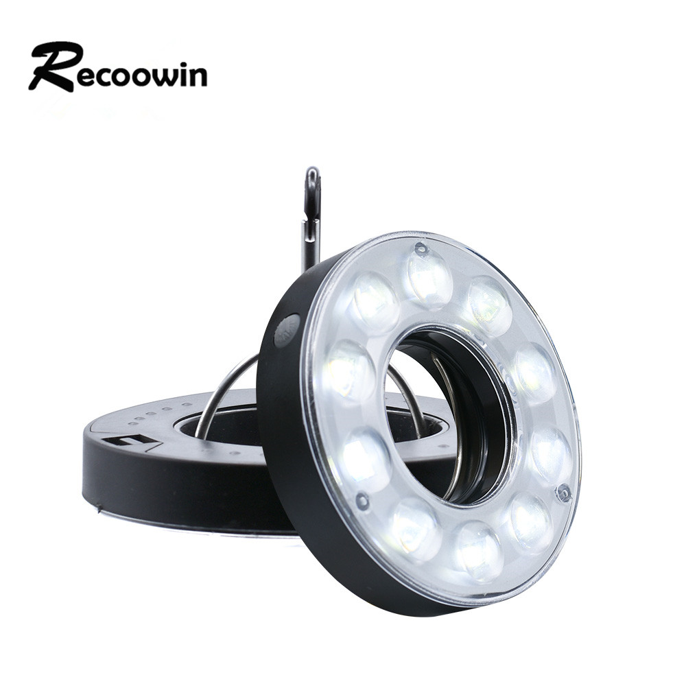Светодиодный светильник COB tend, Рабочая лампа для дома, 3 режима использования, 3 * AAA батареи, светильник для палатки, крючок