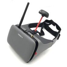 Hawkeye FPV очки головной износ ar очки ж/маленький пилот 5 дюймов FPV монитор приемник для близорукости встроенный рефрактор для радиоуправляемого дрона