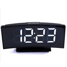 Электронные часы настольные многоцелевые будильник прямоугольное