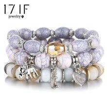 3-4 шт./компл. модные высококачественные Бохо браслеты и браслеты женские браслет из бисера с разноцветные камни длинный широкий шарф браслет для женщин