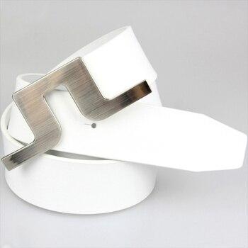 Nuevo cinturón de Golf JL, cinturón de cuero PU, Color negro/blanco para hombre, cinturones de palos de Golf para mujer, colorido, envío gratis