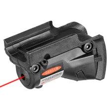 Тактический охотничий красный точечный лазерный прицел красный лазер для винтовки Glock 19 23 22 17 21 37 31 20 34 35 37 38 VI04004