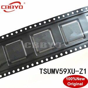 Image 1 - 1 2 個 100% オリジナルの新良質 TSUMV59XU Z1 TSUMV59XU Z1 QFP 100 チップセット LCD コントローラ