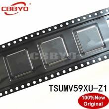 1 2 قطعة 100% الأصلي جديد نوعية جيدة TSUMV59XU Z1 TSUMV59XU Z1 QFP 100 شرائح LCD تحكم