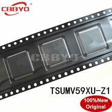 1 2 adet 100% orijinal yeni kaliteli TSUMV59XU Z1 TSUMV59XU Z1 QFP 100 yonga seti LCD kontrolörleri