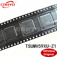 1 2 stücke 100% Original Neue gute qualität TSUMV59XU Z1 TSUMV59XU Z1 QFP 100 Chipsatz LCD Controller