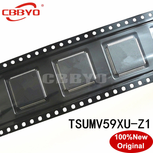 1 2pcs 100% Original New good quality TSUMV59XU Z1 TSUMV59XU Z1 QFP 100 Chipset LCD Controllers
