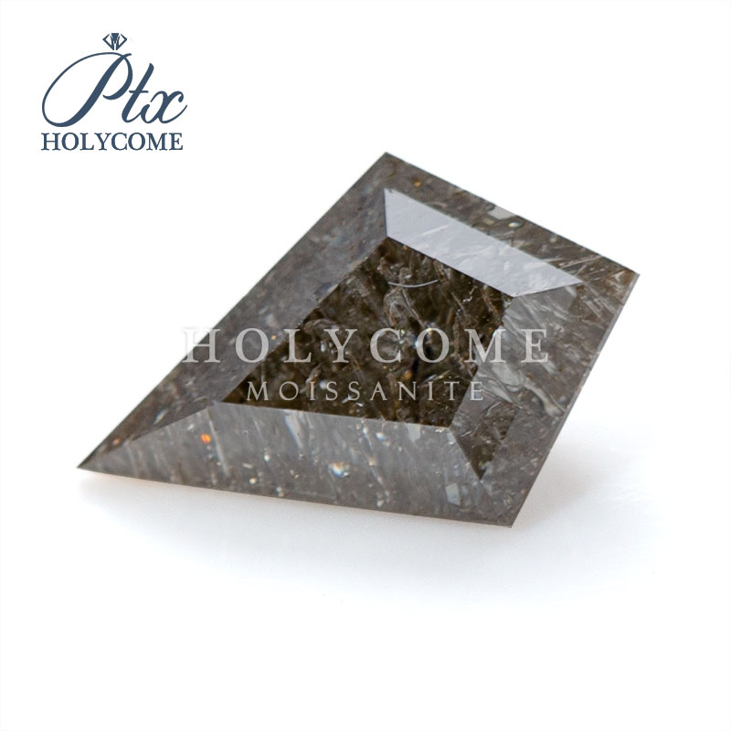 6X8MM Holycome Jewelry Kite Cut Brown Moissanite Color Moissanite Diamond Gemstone For Jewelry