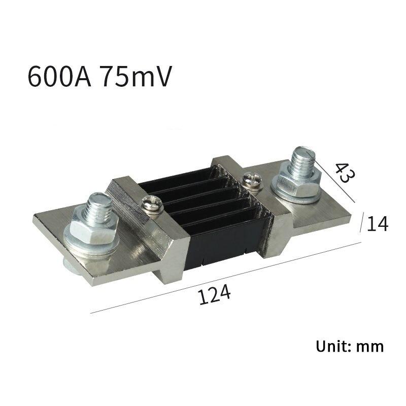 1 шт. внешний шунт 0.5% FL-2B 600A/75mV измеритель тока шунт резистор для цифрового амперметра Ампер Вольтметр ваттметр