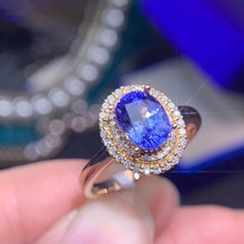 Exquisite Rose Gold Filled Oval Blue Crystal Wedding Ring Bride Promise Ring Engagement Jewelry Anniversary Gift Lover's Gift exquisite 3 color silver gold rose gold wedding ring set bride engagement ring promise jewelry anniversary gift for women