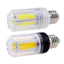 No Flicker Super Bright Home Table Lamps 360 Lighting 12W 16W E27 E14 E12 E26 B22 LED COB Corn Light Bulbs AC 85-265V 110V 220V