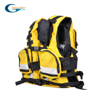 Professional Rescue Life Vest Jacket Multifunctional Life Jacket For climbing Drifting Upstreaming Water Sports Activities