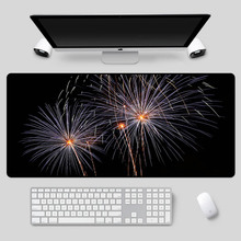 XGZ Beautiful blooming fireworks series pattern mouse pad PC computer notebook office game essential table mat