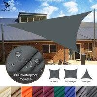 Toldo triangular para sombra de vela, refugio solar de bloque UV 3/3 para instalaciones y actividades al aire libre, toldo para patio trasero, 2/98%, 6/5M