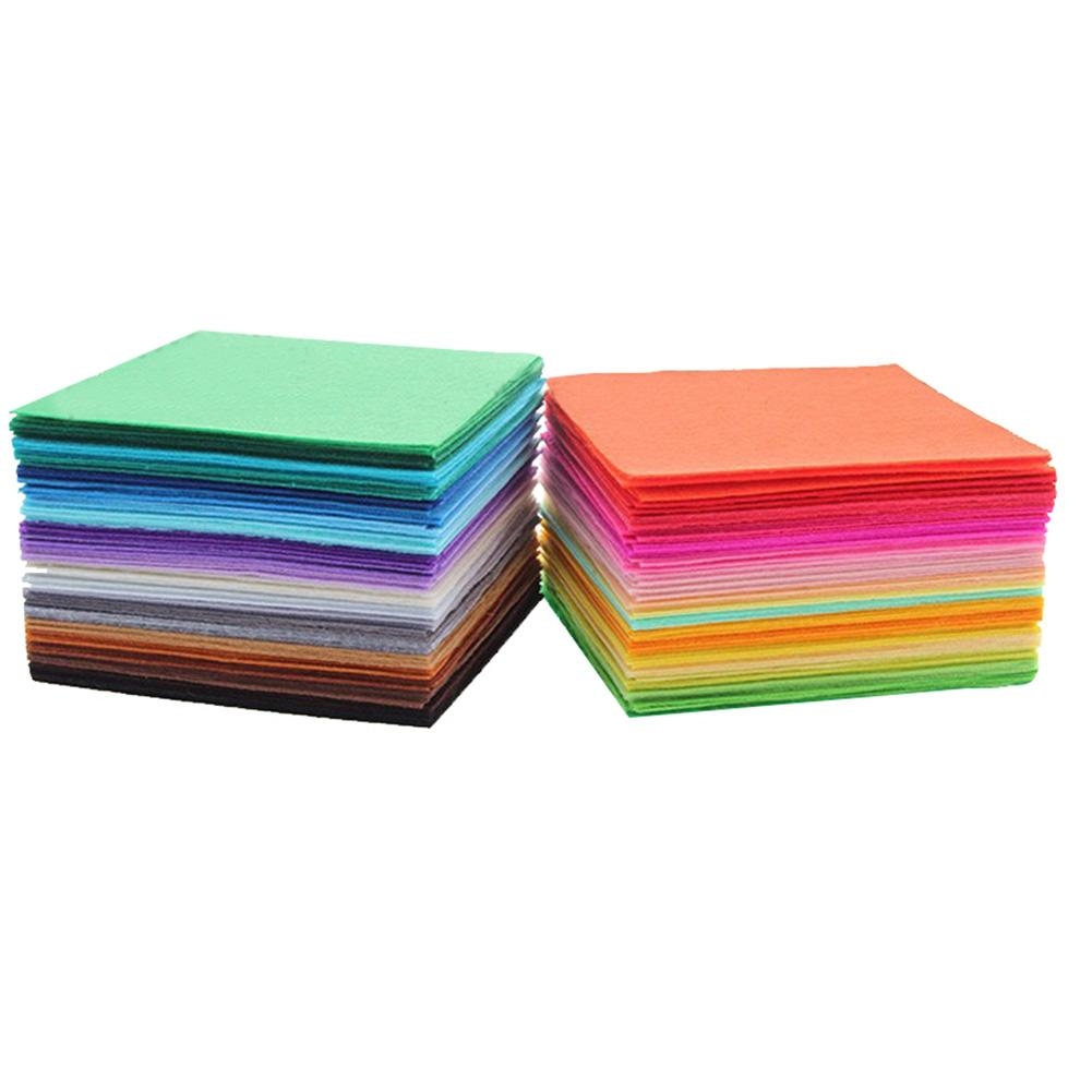 DIY Polyester Cloth Colorful Crafts Felt Fabric