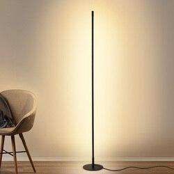 Nordic led aluminiowa lampa podłogowa nowoczesna minimalistyczna główna stojąca lampa lampka nocna do sypialni salon dekoracyjne oświetlenie podłogowe|Lampy podłogowe|Lampy i oświetlenie -
