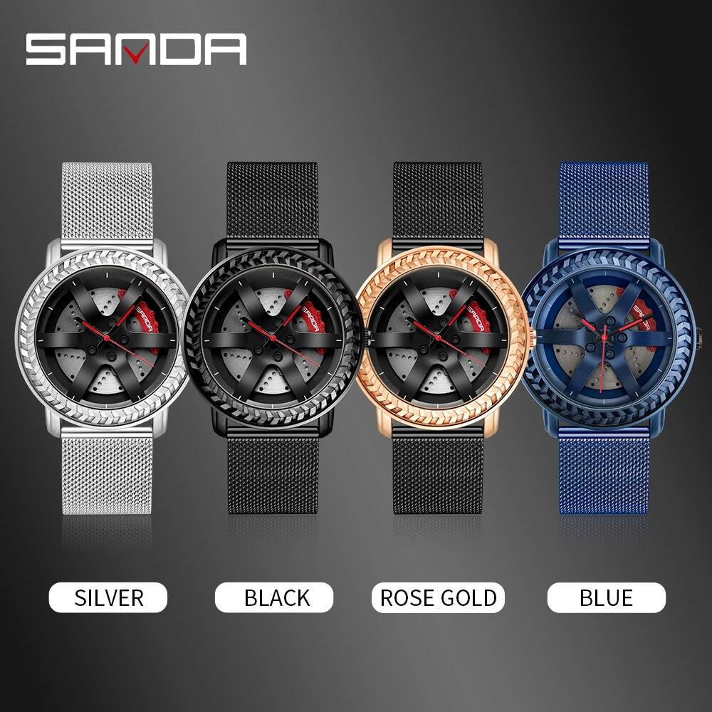 Новинка 2020 хит продаж мужские часы водонепроницаемые 3d дизайн