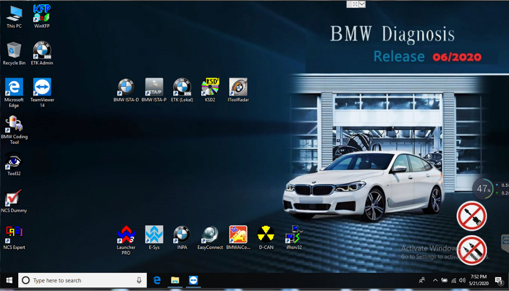 2020.06 ISTA/D 4.23 ISTA/P 3.67 For BMW ICOM Software HDD/SSD Multi-language With Engineers Programming Windows 7 Free Shipping