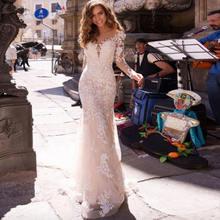 Weilinsha/элегантное платье с длинным рукавом v образным вырезом