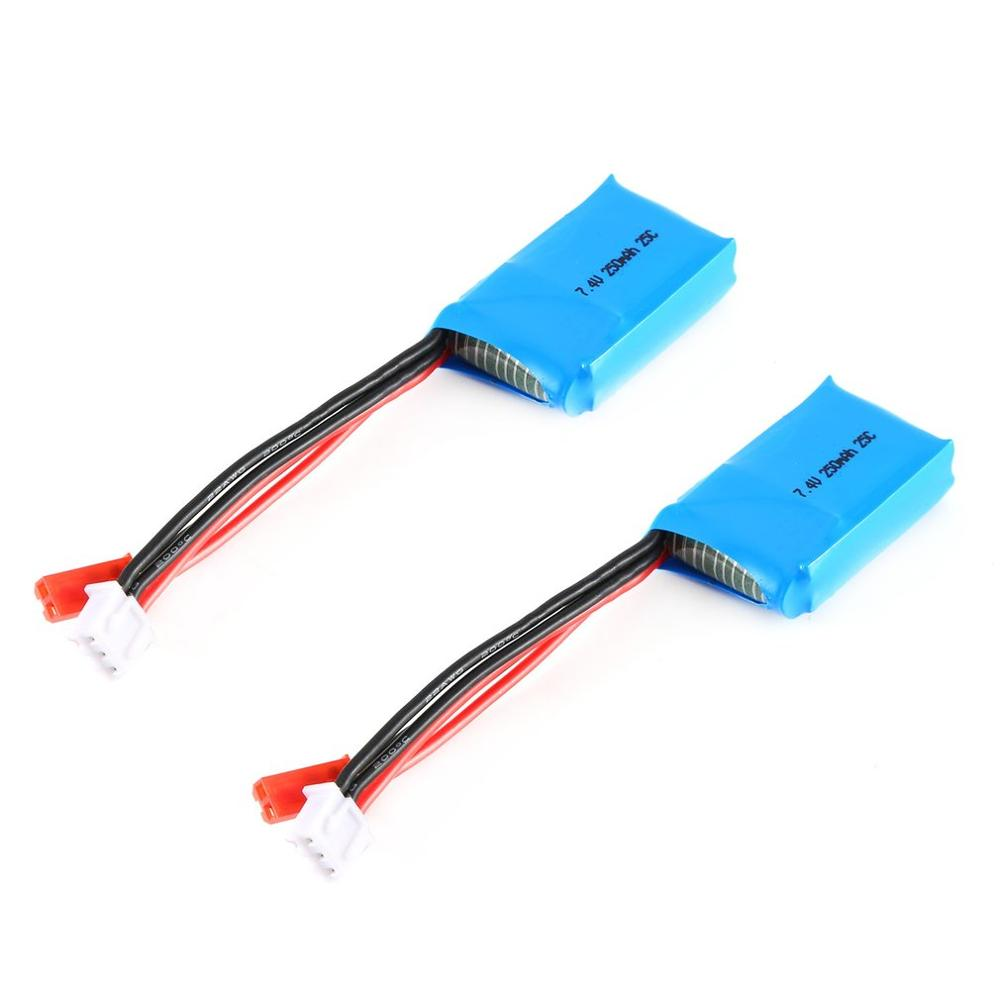 2019 NEW 7.4V 250mAh 25c Rechargeable Battery Lipo Battery RC Lithium Battery For Orlando Hunter 1:35 RC Climbing Car