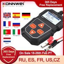 KONNWEI – testeur de batterie de voiture KW208, 12 V, 100 à 2000CCA, circuit de charge, analyseur de batterie, outils