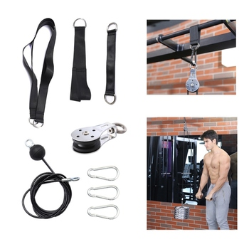 Cable Machine Attachments Rope D-Handle Cable Pully Optional for Gym Fitness Equipment Weight Lifting Workout Accessories