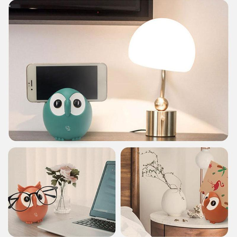 Plastic Cartoon Owl Music Box Household Xmas Gifts Birthday Party Ornament Decoration  Place Cards Cell Phones And Glasses