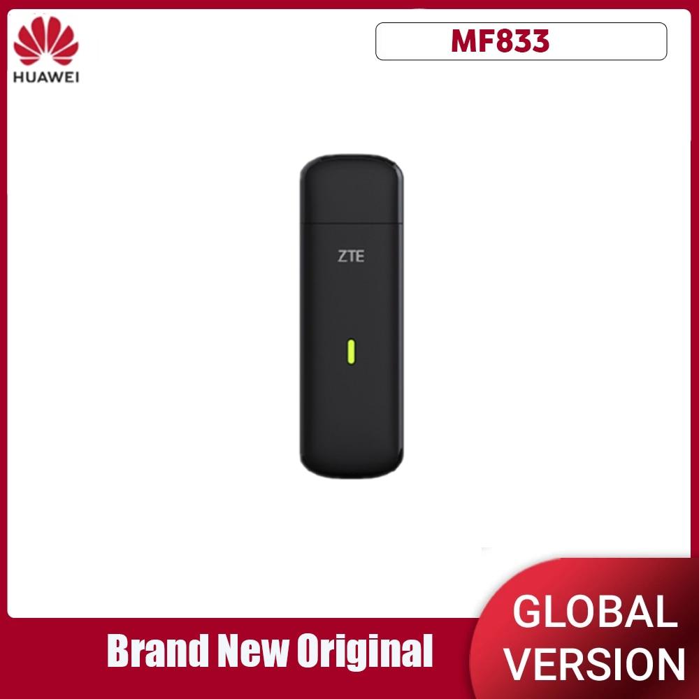 Desbloqueado zte mf833 4g 150mbps lte cat4 usb vara modem dongle pk e3372 e3276