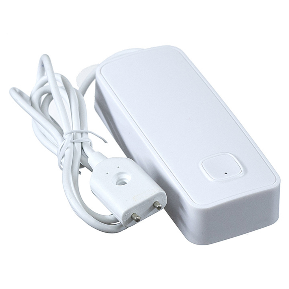Home Water Leak Sensor Remote Control Battery Powered APP Flood Detector Notification Smart WIFI Security Practical Lightweight