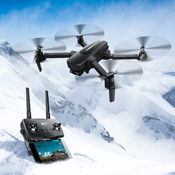 D'origine Hubsan quadrirotor ZINO PRO GPS 5G WiFi 4KM FPV avec caméra 4K UHD 3 axes cardan sphère Panoramas Drone RC quadrirotor