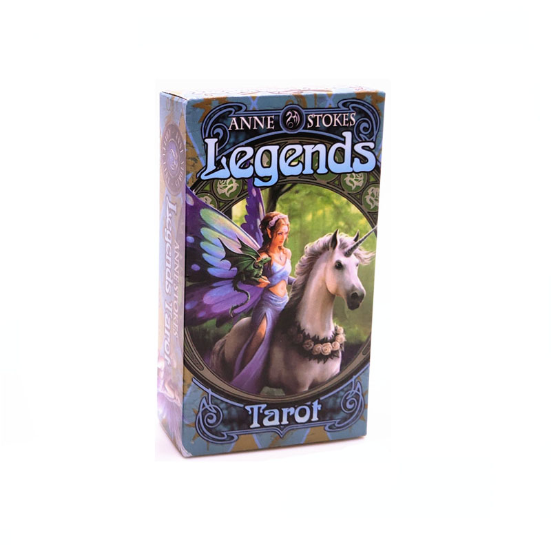 High Quality God Beast Tarot Cards Deck Board Games Cards 4 Languages Tarot Card Read The Mythical Divination Fairies Card Games image