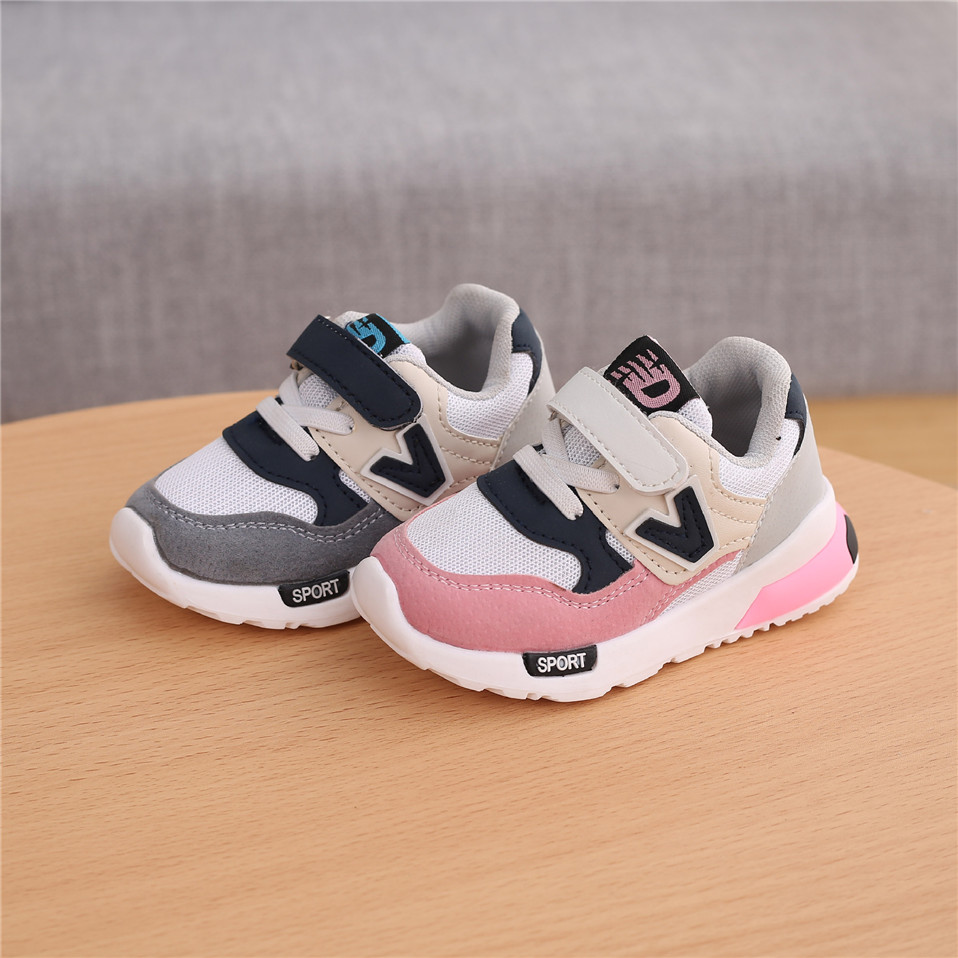 Spring Autumn Kids Shoes Baby Boys Girls Children\'S Casual Sneakers Breathable Soft Anti-Slip Running Sports Shoes Size 21-30