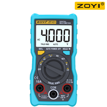 ZOYI ZT-C1 / ZT-C2 / ZT-C3 / ZT-C4 4000 Counts Digital Multimeter Electrical DMM Transistor Tester Capacitance Meter