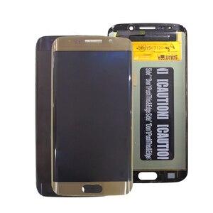 Image 3 - AMOLED Display Per SAMSUNG Galaxy S6 bordo Display LCD G925 G925I G925F Parti Del Telefono di Tocco Digitale Dello Schermo Originale Display OLED