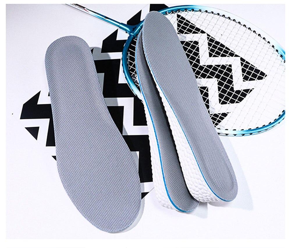 amortecimento poliéster inferior antiderrapante para sapatos almofada pés 1-3cm homem mulher