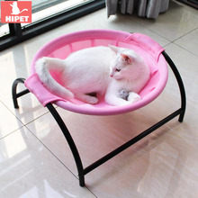 HIPET Cat Dog Summer Bed Mattress Breathable Washable Cooling Pet Small Mat Pad Puppy Kitten Sleeping Round