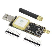 T-движения S76G Лора чип Ора STM32 для ГНСС беспроводной умный модуль развития борту GPS-антенна USB-разъем