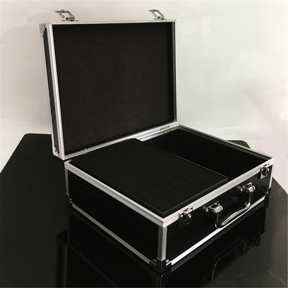 Tattoo Equipment Tattoo Tool Box Suitcase Aluminum Alloy Box Tattoo Tool Storage Box