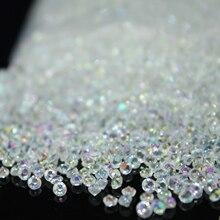 10000 шт./упак. 2,5 мм крошечные конфетти в виде алмазов в форме Куба, Акриловые Кристаллы Конфетти Свадебная вечеринка декорация рукоделие хобби украшения