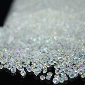 10000pcs/pack 2.5mm Tiny Diamond Confetti Acrylic Crystals Confetti Wedding Party Decoration DIY Crafts Embellishments(China)