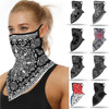 Fashion Print Face Mask Scarf Mascarilla Outdoor Ski Windproof Seamless Face Cover Sports Scarf Neck Hiking Scarves Tube Mask