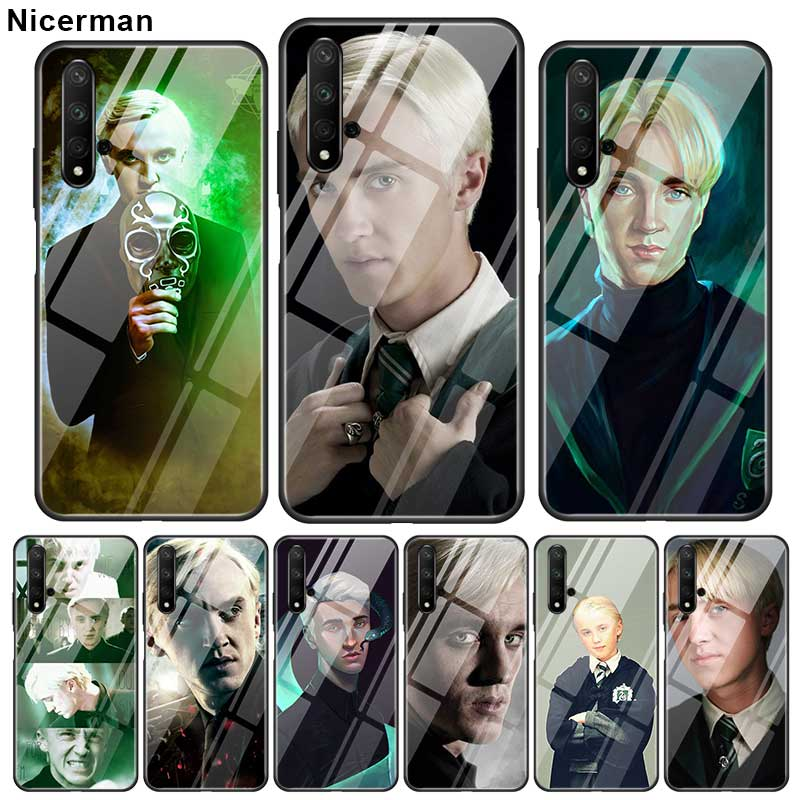 Draco Malfoy <font><b>Cases</b></font> For <font><b>Huawei</b></font> Honor 20 View 30 Pro 30S 8X 9X 10 Lite Play 9A Y9 <font><b>Y7</b></font> Y6 <font><b>2019</b></font> Glass Phone <font><b>Covers</b></font> image