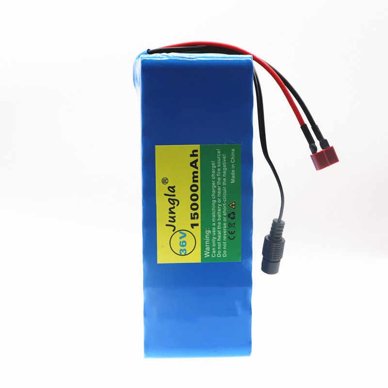 2019 Original 36v 15ah batería de bicicleta eléctrica 18650 Paquete de batería 36V 15000mAh 500W de alta potencia y capacidad 42V motocicleta Scooter