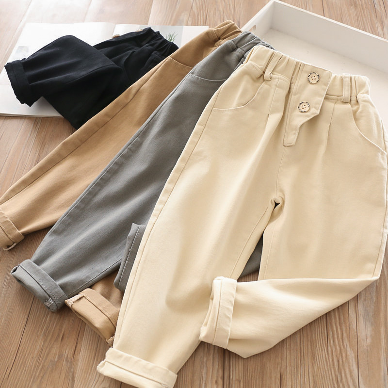 2020 Spring Baby Girls Cotton Casual Pants WholesalePants